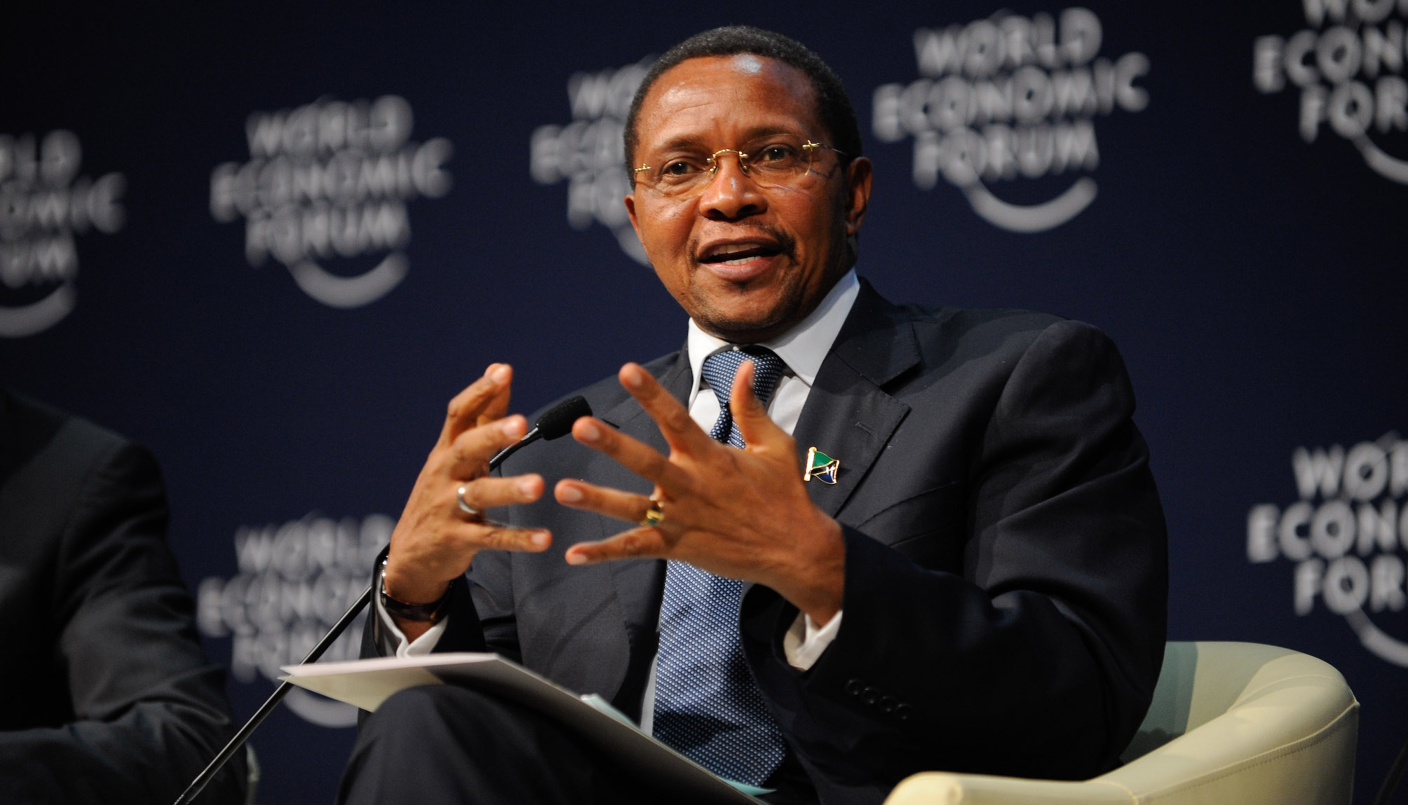Jakaya_Kikwete_-_Partnerships_for_Development_-_World_Economic_Forum_on_Africa_2011_-_2